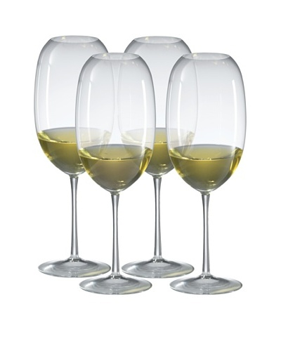 Ravenscroft Crystal Set of 4 Amplifier Barrique White Glasses, 24-Oz.