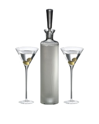 Ravenscroft Crystal 3-Piece Martini Set