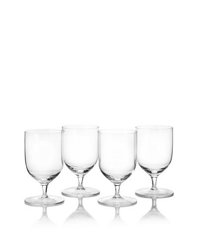 Ravenscroft Crystal Set of 4 Classic Mineral Water Short Stem Glasses