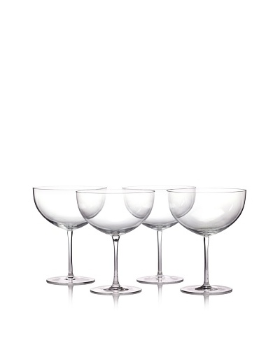 Ravenscroft Crystal Set of 4 Dessert Pedestals, 36-Oz.