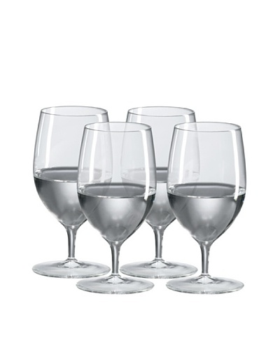 R. Croft by Ravenscroft Crystal Set of 4 Mineral Water Glasses, 14-Oz.