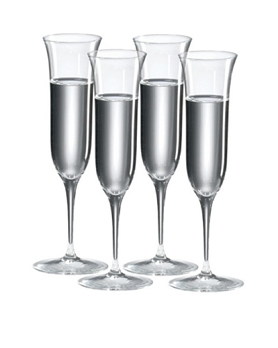 Ravenscroft Crystal Set of 4 Grappa/Cordial Glasses, 4-Oz.As You See
