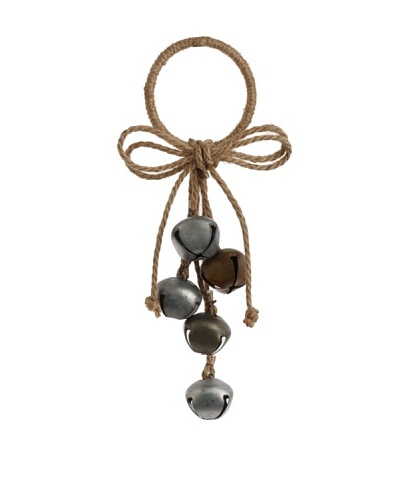 RAZ Jingle Bell Cluster Ornament