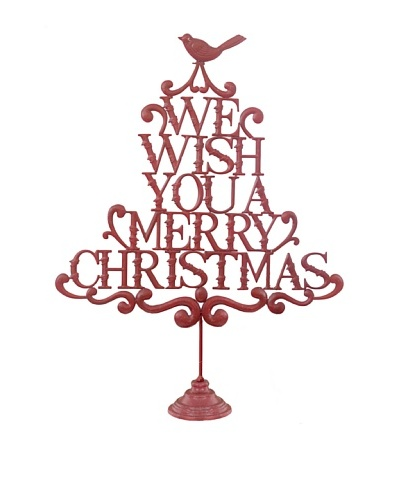 RAZ 31.5 We Wish You A Merry Christmas Stand