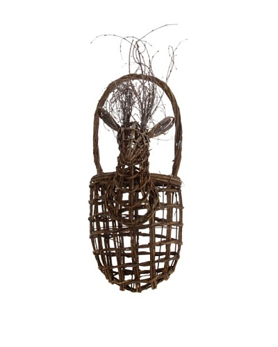 RAZ 21 Deer Head Wall Basket