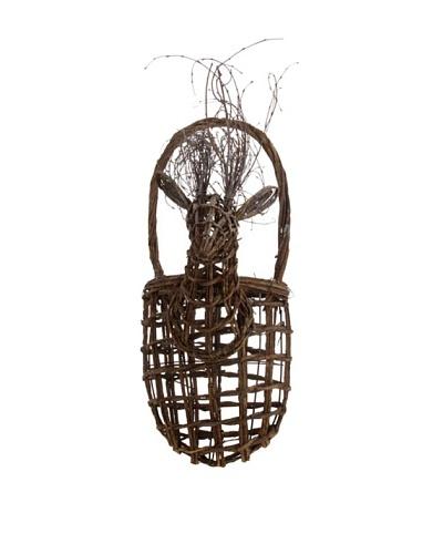 RAZ 21 Deer Head Wall Basket