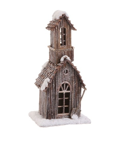 RAZ Snowy Church