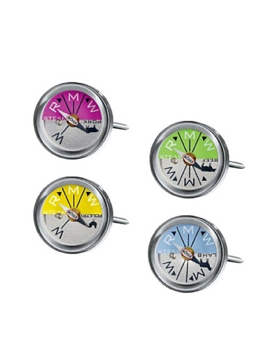 Rösle Set of 4 Dual Functioning Mini Grill and Oven Thermometers