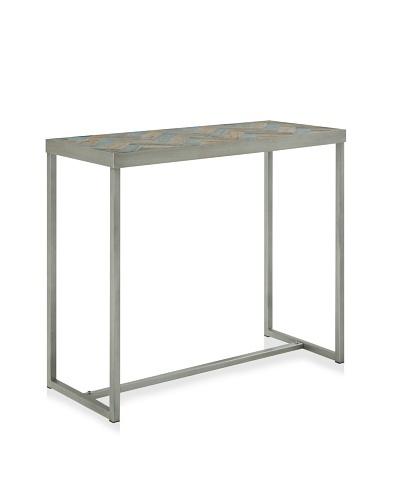 Trina Console Table, Ocean Elm/Old Elm