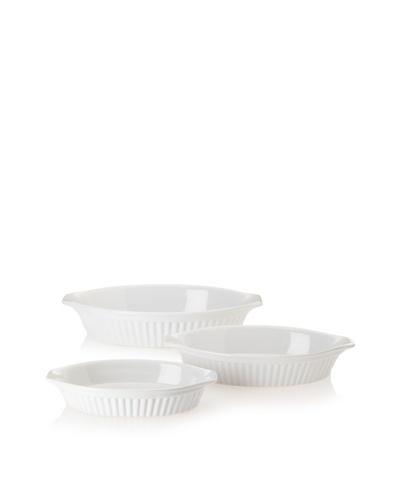 Reco Römertopf Oval Baker Set [White]