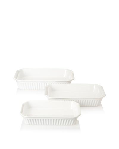 Reco Römertopf Rectangular Baker Set [White]