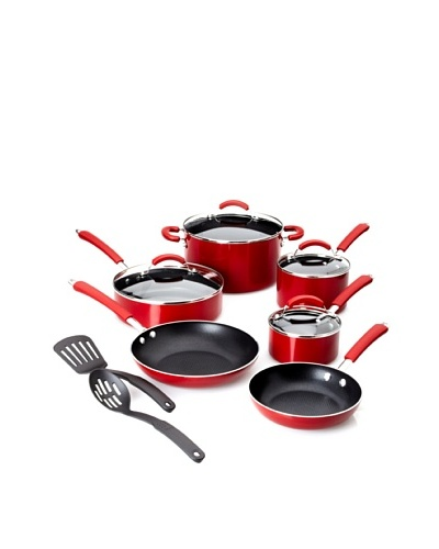 Farberware Millennium Colors 12-Piece Non-Stick Cookware Set