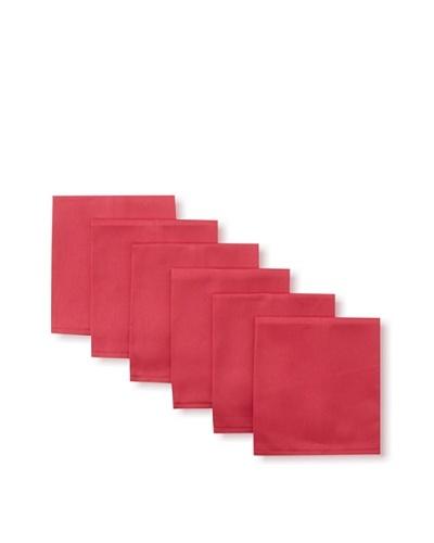 Garnier-Thiebaut Set of 6 Confetti Solid Napkins