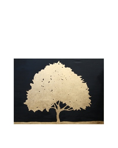 Red Label Cinithyia Reed Golden Tree Oil Painting