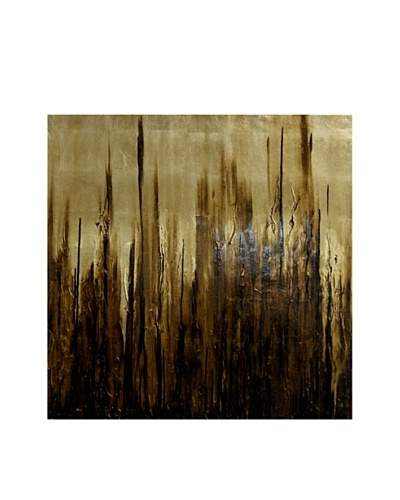 Red Label Cinithyia Reed Gold Rain Oil Painting