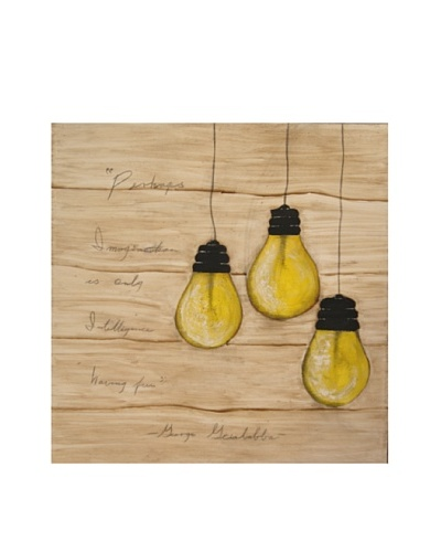 Red Label Cinithyia Reed 3 Bright Ideas Oil Painting