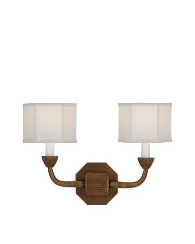 Remington Lamp Two Light Wall Sconce [Bronze]