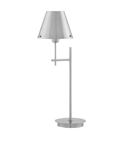Remington Lamp Satin Nickel Contemporary Table Lamp