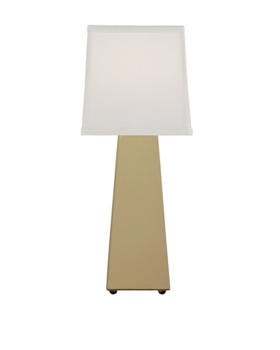 Remington Lamp Ceramic Obelisk Accent Lamp [Ginger]