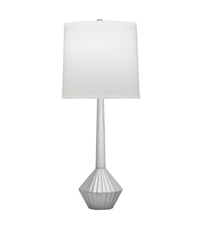 Remington Lamp Fluted Table Lamp [Satin Nickel]