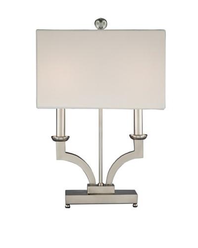 Remington Lamp Modern Two Candle Desk Lamp