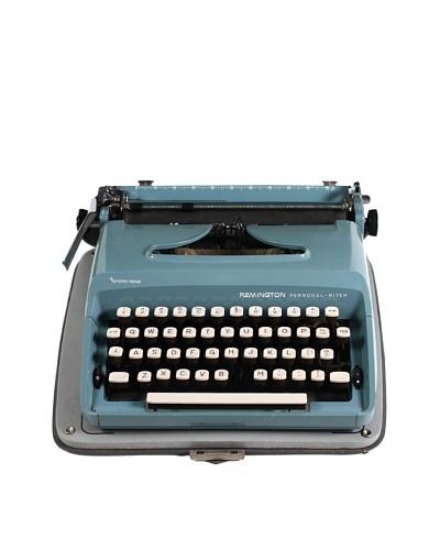 Remington Vintage Typewriter, Blue
