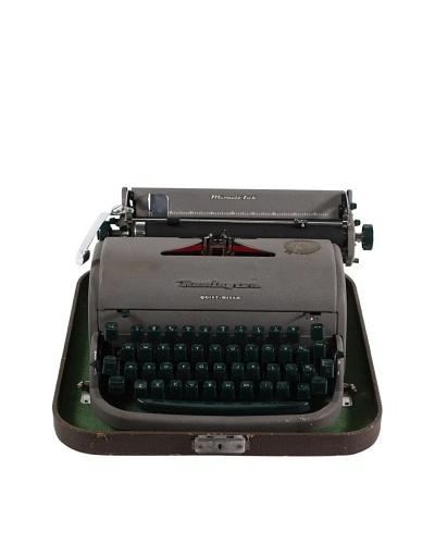 Remington Vintage Typewriter, Grey