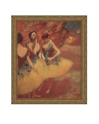 "Edgar Degas Three Dancers in Yellow Skirts, 1891 Framed Canvas, 24"" x 20"""