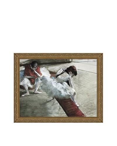 Edgar Degas Gallery Player Framed Canvas, 18 x 24