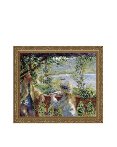 Pierre-Auguste Renoir By the Water, ca. 1880 Framed Canvas, 17 x 21