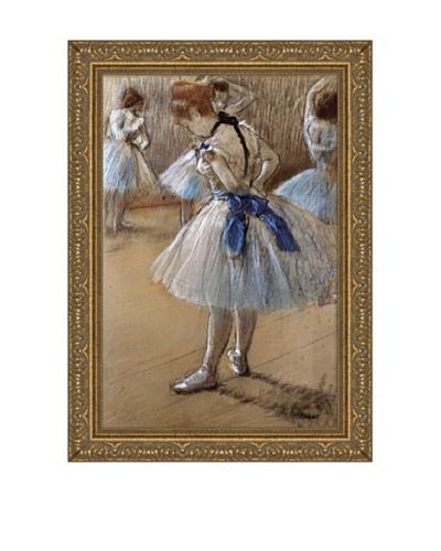 Edgar Degas A Study of a Dancer Framed Canvas, 18 x 12