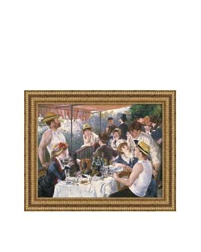 Pierre-Auguste Renoir Luncheon of the Boating Party Framed Canvas, 27 x 36