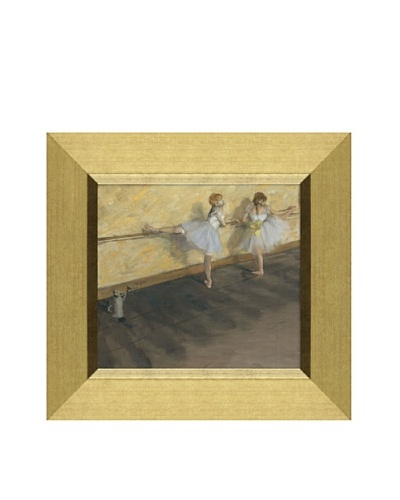 Edgar Degas Dancers Practicing at the Barre, 1877 Framed Canvas, 11 x 12