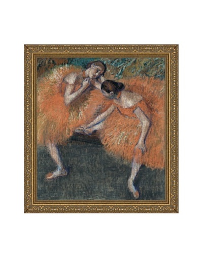 Edgar Degas Two Dancers, ca. 1898 Framed Canvas, 20 x 18