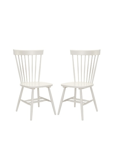 Safavieh Set of 2 Parker Side Chairs, Gray