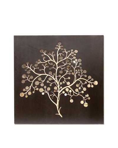 Palecek Silver Dollar Tree Mirror