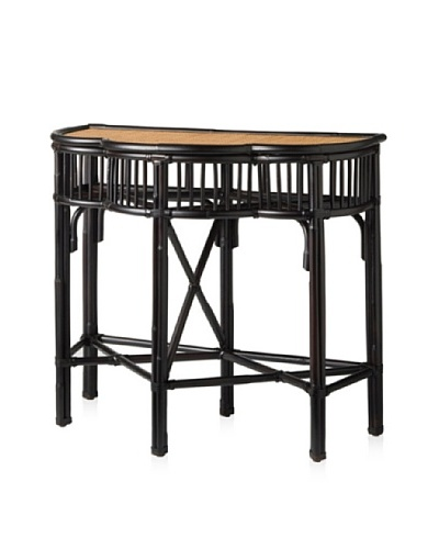 Palecek Campaign Console Table Chocolate
