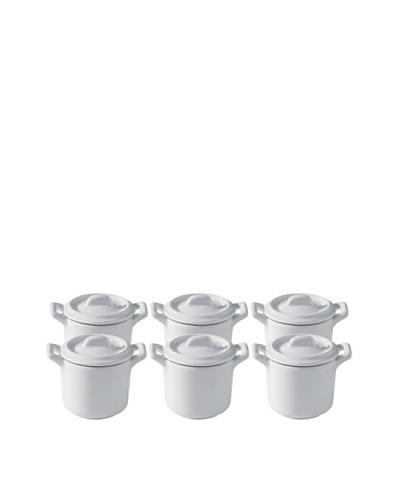 REVOL Belle Cuisine Set of 6 2-Oz. Miniature Stewpots
