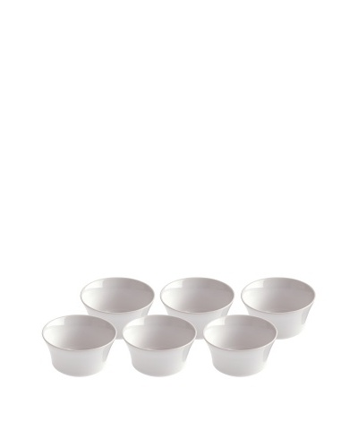 REVOL Set of 6 6-Oz. Round Ramekins