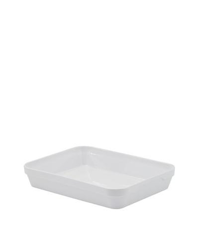 REVOL Deep Rectangular Dish, White