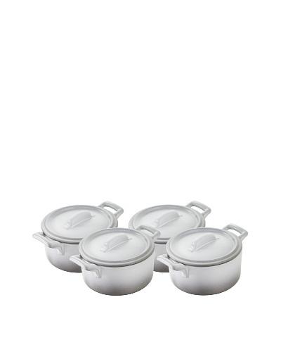 REVOL Set of 4 Round Casseroles
