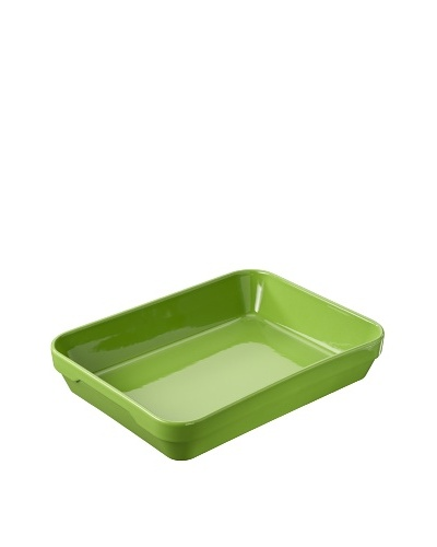 REVOL Deep Rectangular Dish, Lime Green