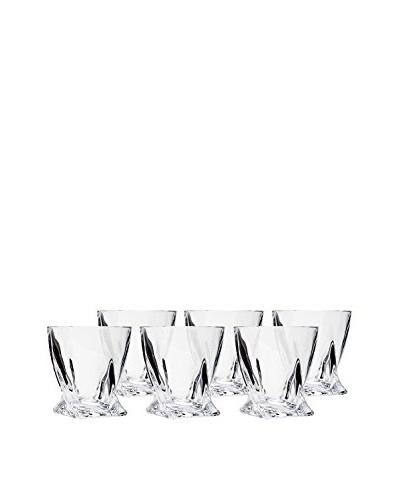 Ricci Set of 6 Quaddro Double Old Fashioned 8-Oz. Glasses