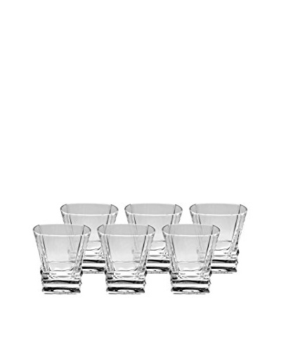 Ricci Set of 6 Elegante Double Old Fashioned Glasses