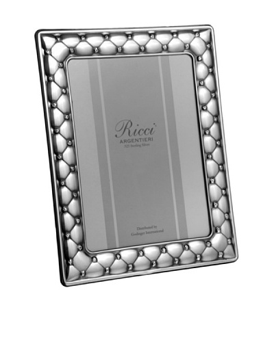 Ricci Sterling Silver Cushion Photo Frame