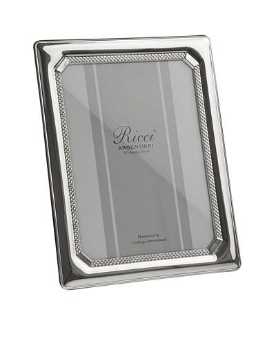 Ricci Tri-Bead Sterling Silver Frame, 5 x 7