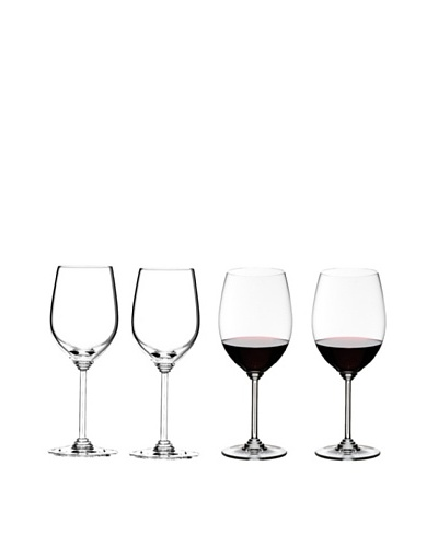 Riedel Wine Series Set of 4 Mixed Cabernet and Viognier Glasses
