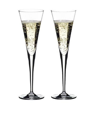 Riedel Set of Two Ouverture Toasting Flutes