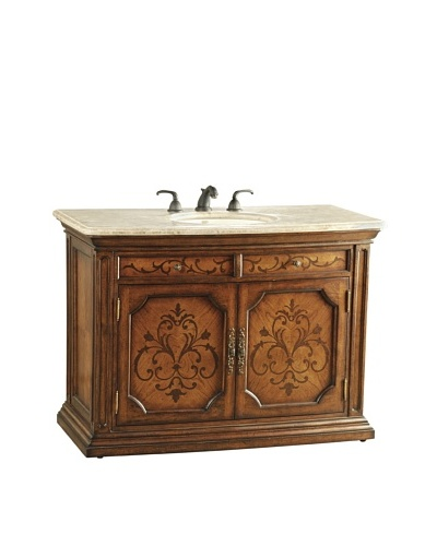River Road Collection Juliane Sink Chest, Honey/BeigeAs You See