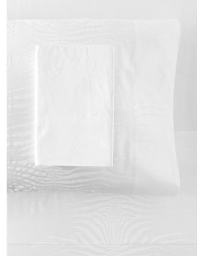 Roberto Cavalli Zebra Sheet Set [White]